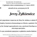 Ś.P. Jerzy Żyłkieiwcz 7.03.2015 Lwówek Śląski, Wleń