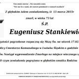 Ś.P. Eugeniusz Stankiewicz 13.03.2015 Lwówek Śląski