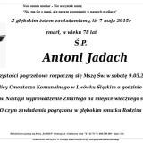 Ś.P. Antoni Jadach 7.05.2015 Lwówek Śląski