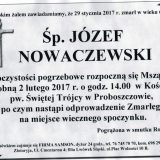Ś.P. Józef Nowaczewski 29.01.2017r. Złotoryja, Proboszczów