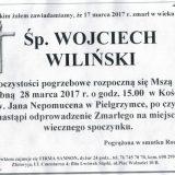 Ś.P. Wojciech Wiliński 17.03.2017r. Złotoryja, Pielgrzymka