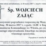Ś.P. Wojciech Zając 28.03.2017. Lwówek Śląski, Wleń