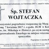 Ś.P. Stefan Wojtaczka 04.04.2017r. Złotoryja