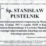 Ś.P. Stanisław Pustelnik 10.05.2017r. Lwówek Śląski