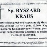 Ś.P. Ryszard Kraus 20.05.2017r. Lwówek Śląski, Wleń