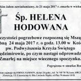 Ś.P. Helena Hodowana 21.05.2017r. Złotoryja, Sędzimirów