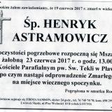 Ś.P. Henryk Astramowiecz 19.06.2017r. Lwówek Śląski, Pławna