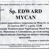 Ś.P. Edward Mycan 21.06.2017r. Lwówek Śląski, Lubomierz
