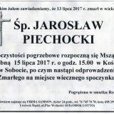 Ś.P. Jarosław Piechocki 13.07.2017r. Lwówek Śląski, Sobota
