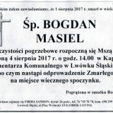 Ś.P. Bogdan Masiel 01.08.2017r. Lwówek Śląski