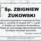 Ś.P. Zbigniew Żukowski 27.08.2017r. Lwówek Śląski, Wleń