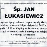 Ś.P. Jan Łukasiewicz 11.10.2017r. Lwówek Śląski, Jurków