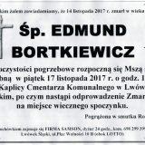 Ś.P. Edmund Bortkiewicz 14.11.2017r. Lwówek Śląski