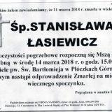 Ś.P. Stanisława Łasiewicz 11.03.2018r. Lwówek Śląski, Płóczki Górne