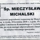 Ś.P. Mieczysław Michalski 07.04.2018r. Lwówek Śląski
