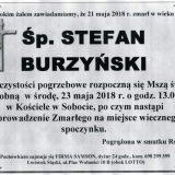 Ś.P. Stefan Burzyński 21.05.2018r. Lwówek Śląski, Sobota