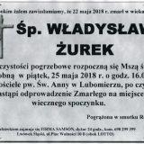 Ś.P. Władysław Żurek 22.05.2018r. Lwówek Śląski, Lubomierz