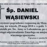 Ś.P. Daniel Wąsiewski 25.05.2018r. Lwówek Śląski, Lubomierz