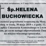 Ś.P. Helena Buchowiecka 27.05.2018r. Lwówek Śląski