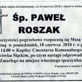 Ś.P. Paweł Roszak, 14.06.2018 r. Lwówek Śląski