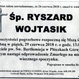 Ś.P. Ryszard Wojtasik, 24.06.2018 r. Lwówek Śląski- Płóczki Górne