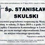 Ś.P. Stanisław Skulski 17.07.2018 r. Lwówek Śląski