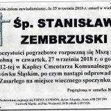 Ś.P. Stanisław Zembrzuski, 25.09.2018 r. Lwówek Śląski