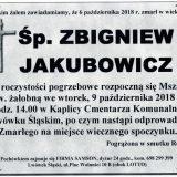 Ś.P. Zbigniew Jakubowicz, 06.10.2018 r. Lwówek Śląski