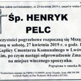 Ś.P. Henryk Pelc 23.04.2019 r. Lwówek Śląski