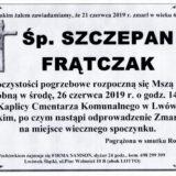 Ś.P. Szczepan Frątczak 21.06.2019 r. Lwówek Śląski