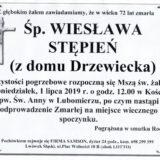 Ś.P. Wiesława Stępień Lwówek Śląski – Lubomierz