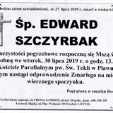 Ś.P. Edward Szczyrbak 27.07.2019 r. Lwówek Śląski – Pławna