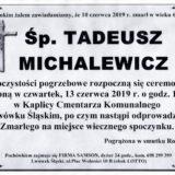 Ś.P. Tadeusz Michalewicz 10.06.2019 r. Lwówek Śląski