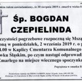 Ś.P. Bogdan Czepielinda 30.08.2019 r. Lwówek Śląski