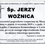Ś.P. Jerzy Woźnica 01.09.2019 r. Lwówek Śląski
